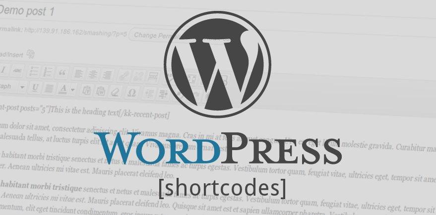 wp-shortcodes